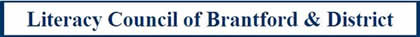 Literacy council of brantford logo